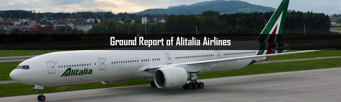 Ground Report of Alitalia Airlines