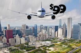 $99 Flights to Chicago