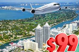 Book $99 Flights to Florida Now