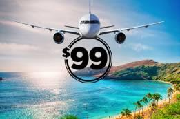 Manage $99 Flights to Hawaii