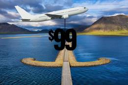 $99 Flights to Iceland Book Now