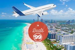 Find Your Deals for $99 Flights to Miami