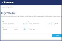 Aegean Airlines Flight Status