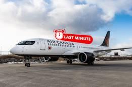Air Canada Last Minute Flights