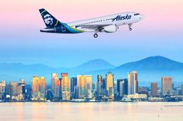 Alaska Airlines Destinations in California