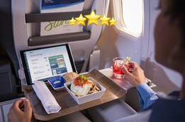 Review of Food and Drinks in Alaska Airlines First Class