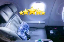 Alaska Airlines First Class Review
