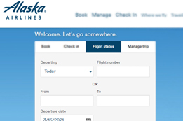 How to Check Alaska Airlines Flight Status?