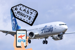 How to Book Alaska Airlines Last Minute Flights?