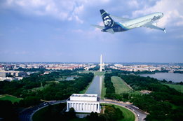 Alaska Airlines Destinations in Washington