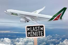 Alitalia Airlines Last Minute Flights