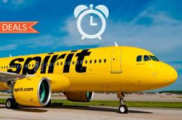 Avail Deals on Spirit Last Minute Flights