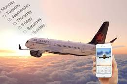 Cheapest Day to Book Air Canada Flights