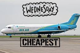 Cheapest Day to Book Bek Air Flights