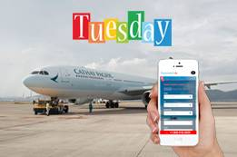 Cheapest Day to Book Cathay Pacific Flights on FM