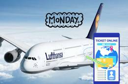 Cheapest Day to Book Lufthansa Flights