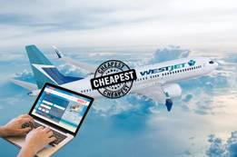 Cheapest Day to Book WestJet Flights