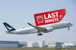 Cathay Pacific Last Minute