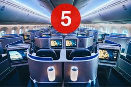 How many cabin classes does United Airlines offer?