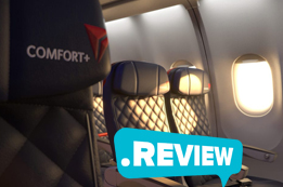 Delta Airlines Comfort Plus Review