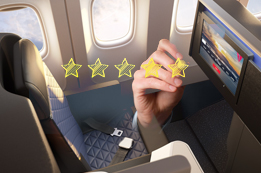 Delta Airlines First Class Review