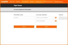 EasyJet Airlines Flight Status   EasyJet Flight