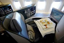 Eva Airlines Royal Laurel Class In-Flight Amenities