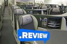 Eva Airlines Royal Laurel Class Review