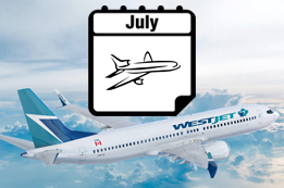 Westjet Released July Travel Schedule