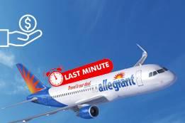 Find Economical Allegiant Last Minute Flights