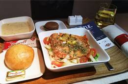Food & Beverage Overview in Delta Airlines