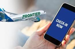 Frontier Airlines Check-In   Frontier Flight