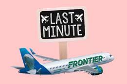 Frontier Last Minute Flights Booking