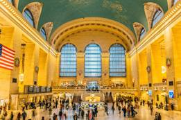 Glimpse on Grand Central Terminal, New York