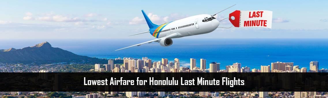 $51, Book Honolulu Last Minute Flights +1-800-918-3039