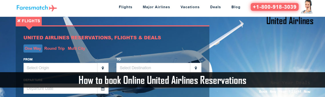 How to book Online United Airlines Reservations