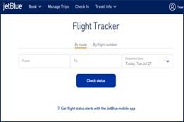 JetBlue Airlines Flight Status   JetBlue Flight