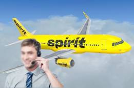 How Do I Talk Live Person at Spirit Airlines?