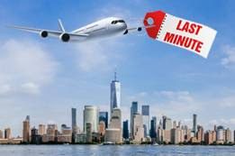 Tips to Find New York Last Minute Flights Booking
