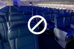 Things Which Are Not Allowed in Delta Basic Economy