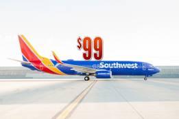 Southwest Airlines $99 Flights