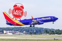 Southwest Airlines Last-Minute Flights