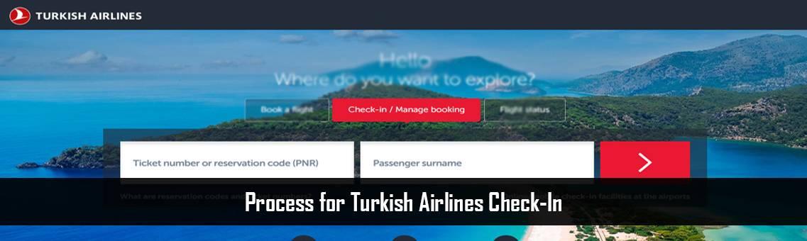 Turkish Airlines Check-In | Turkish Flight