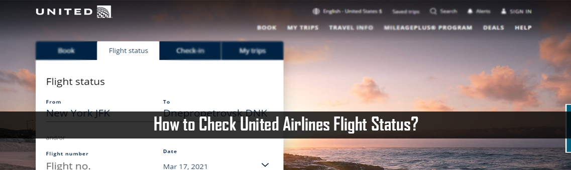 How to Check United Airlines Flight Status?