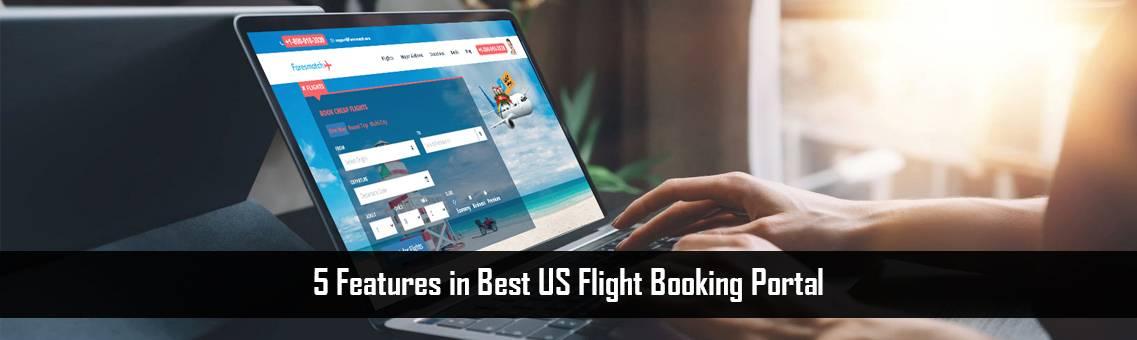 US Flight Booking Portal