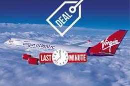 Virgin Atlantic Last Minute Flights Booking Deals