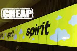 Why Spirit Airlines is So Cheap?