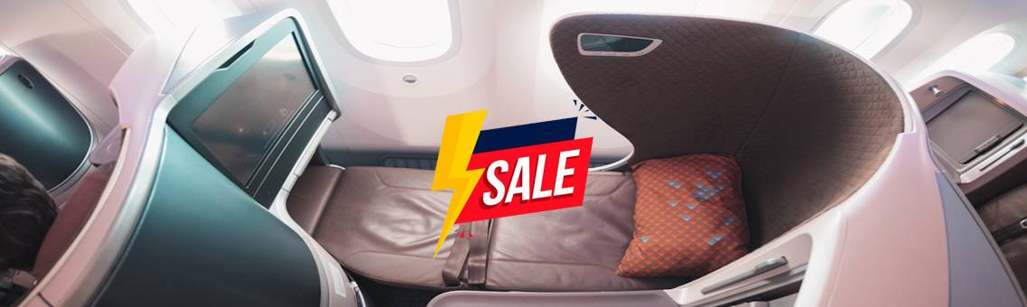 Avail Business Class Flights Sale in the United States