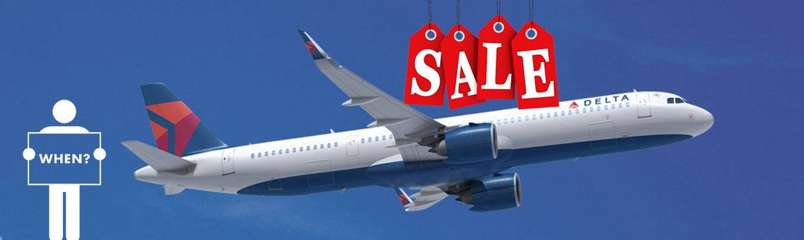 When is Delta Airlines Sale?