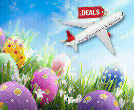 Easter Day Flights Deals